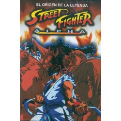 Street Fighter Alpha - La película DVD