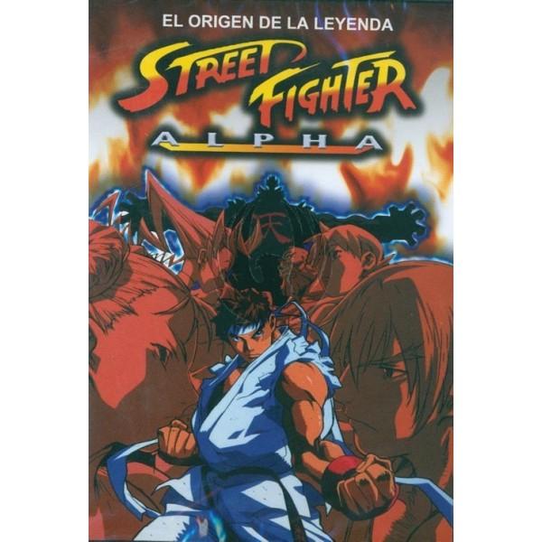 Street Fighter Alpha - La película DVD
