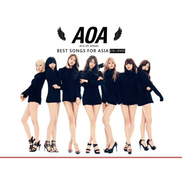 AOA / BEST SONGS FOR ASIA Limited Edition
