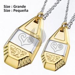 DIGIMON  Emblema colgante de plata (Amor)