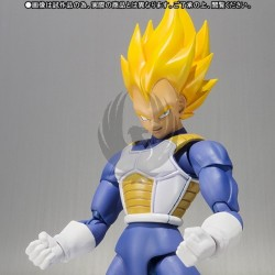 SUPER SAIYAN VEGETA PREMIUM COLOR EDITION FIGURA 14,5 CM DRAGON BALL Z SH FIGUARTS PRECIO NETO