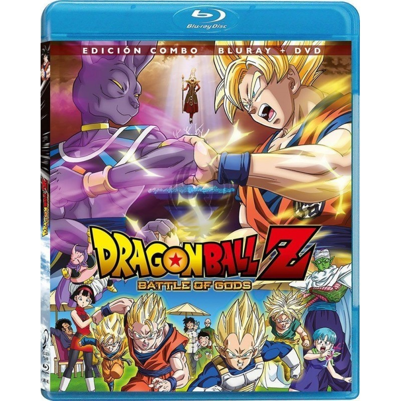 Dragon Ball Z Battle Of Gods Edicion Combo Blu Ray Dvd