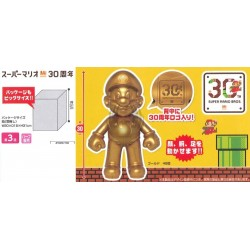SUPER MARIO  30TH ANNIVERSARY FIGURE GOLD MARIO