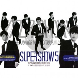"SUPER JUNIOR WORLD TOUR in SEOUL ""SUPER SHOW 5"" (2DVD)"