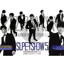 "SUPER JUNIOR WORLD TOUR in SEOUL ""SUPER SHOW 5"" (2DVD)"