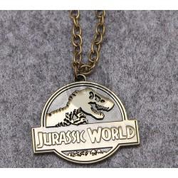 Jurassic World Necklace Bronze