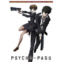 PSYCHO-PASS - PRIMERA TEMPORADA PARTE 1: EPISODIOS 1 A 11 - 3 DVD