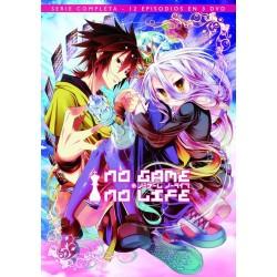 NO GAME NO LIFE - SERIE COMPLETA 12 EPISODIOS EN 3 DVD