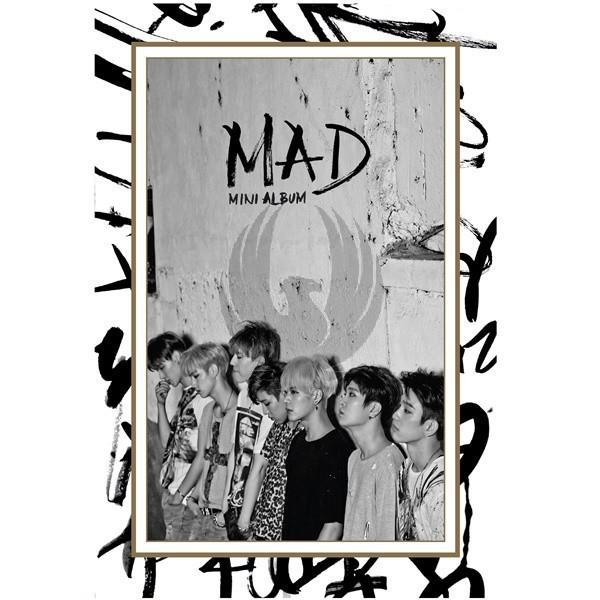 GOT7 /  MAD CD+DVD Vertical Ver