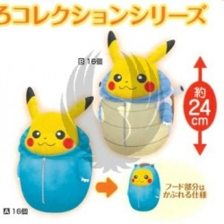 PIKACHU NEBUKURO COLLECTION DEKAI PLUSH DOLL