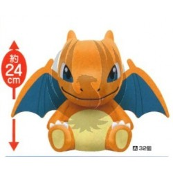 POCKET MONSTERS XY&Z DEKAI KOROTO MANMARUI PLUSH DOLL (Charizard)