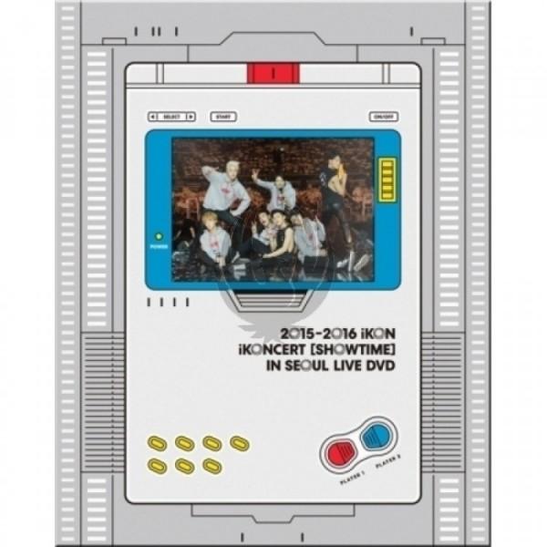 IKON - 2015-2016 IKON IKONCERT [SHOWTIME] IN SEOUL LIVE DVD