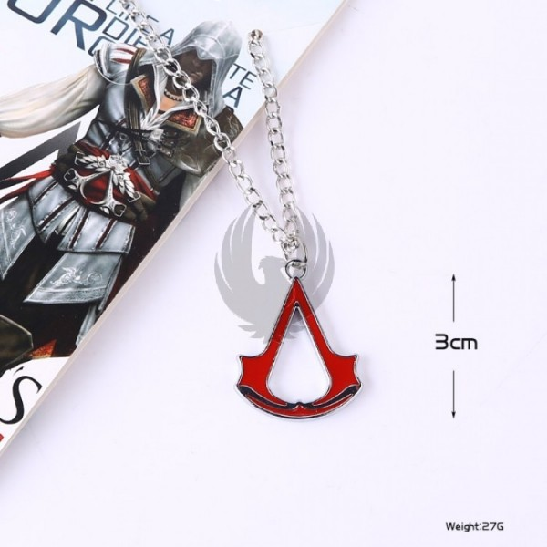 Assassin Creed Necklace (rojo)