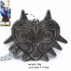ZELDA majoras mask (colgante) Color Metal