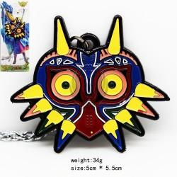 ZELDA majoras mask (colgante) Color