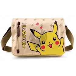 Pokemon (Pikachu) BANDOLERA PU CASUAL