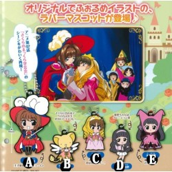 CARD CAPTOR SAKURA RUBBER MASCOT