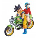 Dragon Ball Z DESKTOP REAL MCCOY SON GOKU & CHICHI EN MOTO 2