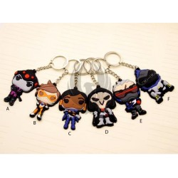 OVERWATCH / characters Key Chain