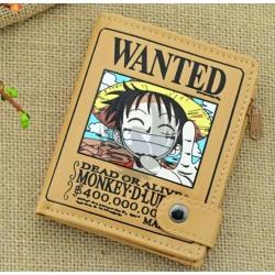 One Piece / Luffy Wanted Billetera