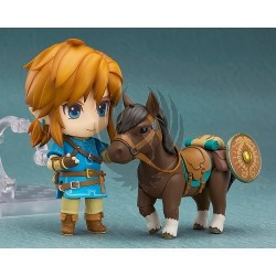 LINK FIGURA DELUXE VERSION  ZELDA BREATH OF THE WILD NENDOROID