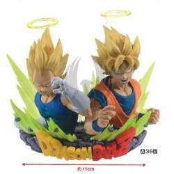 DBZ COM : FIGURATION (Vegeta & Gokou)